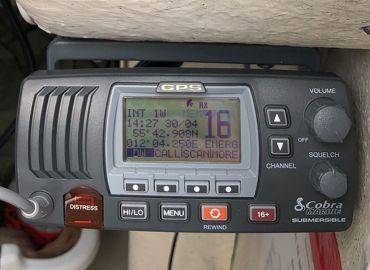 Ny VHF radio til Ørnen