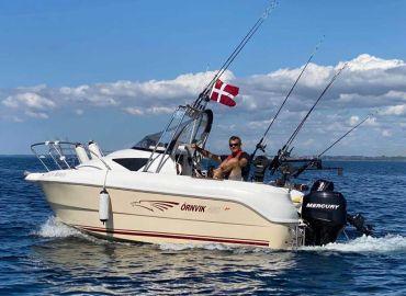 Tur på Øresund - afslapning eller fisketur?